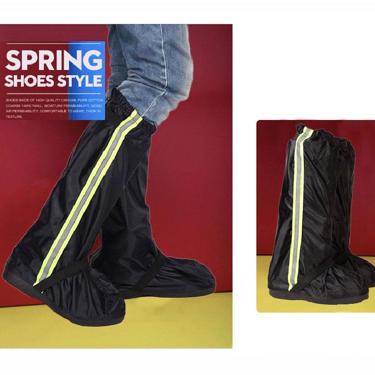 Bọc giày đi mưa đế leo núi, phản quang