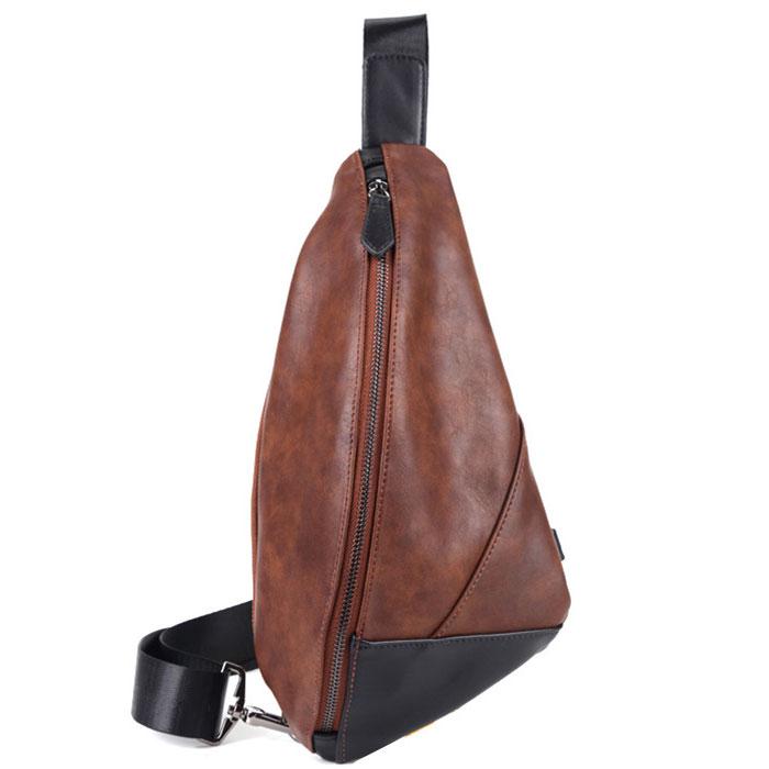 Túi đeo chéo da nam TC37 (màu nâu)