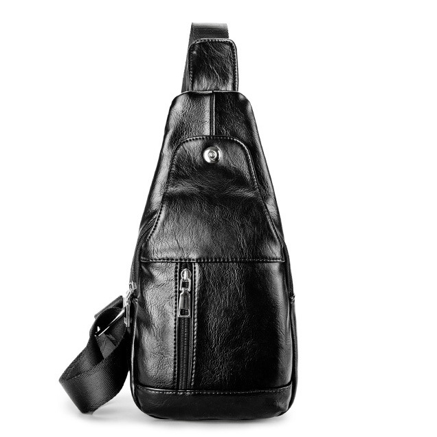 Túi đeo chéo da nam thời trang sang trọng TC32
