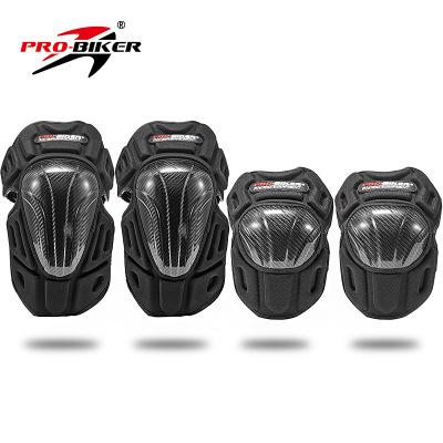 Giáp bảo vệ tay chân carbon probiker
