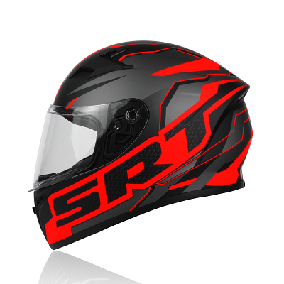 Mũ bảo hiểm fullface Yohe 978 Storm SRT ( đen đỏ )