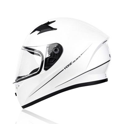 Mũ bảo hiểm fullface Yohe 978 Storm ( trắng bóng )