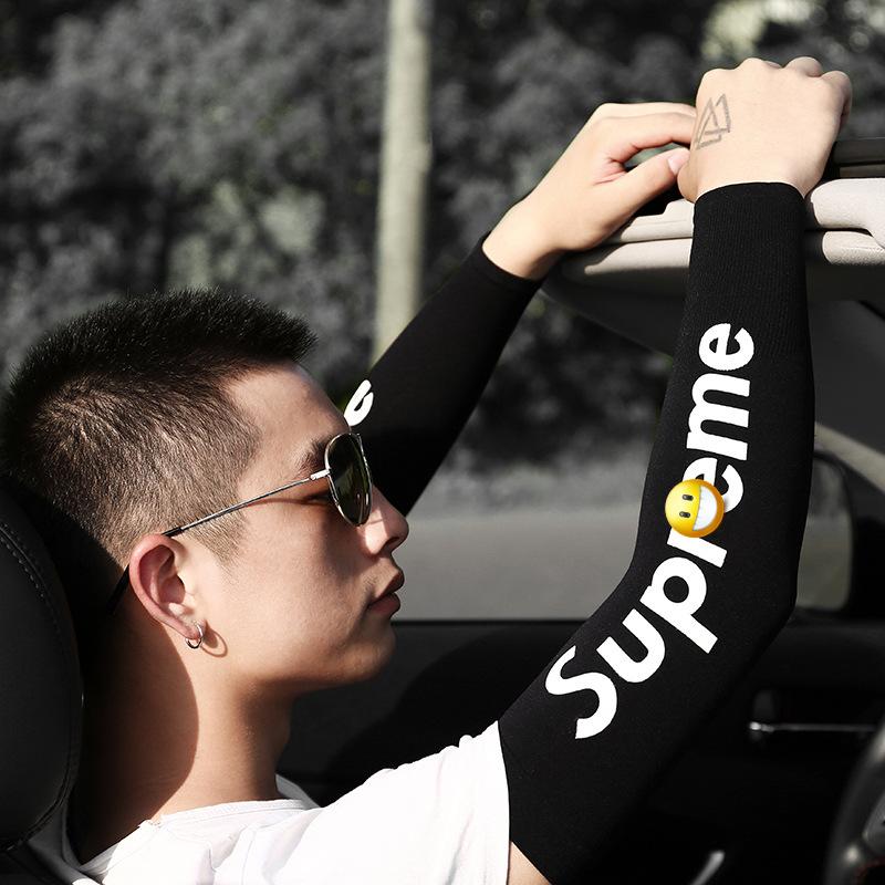 Ống tay chống nắng thể thao cao cấp (màu đen)