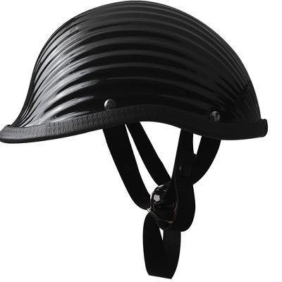 Mũ vỏ sò đen bóng