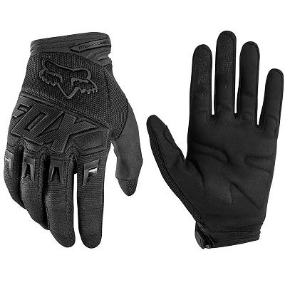 Găng tay xe máy Fox dài ngón đen