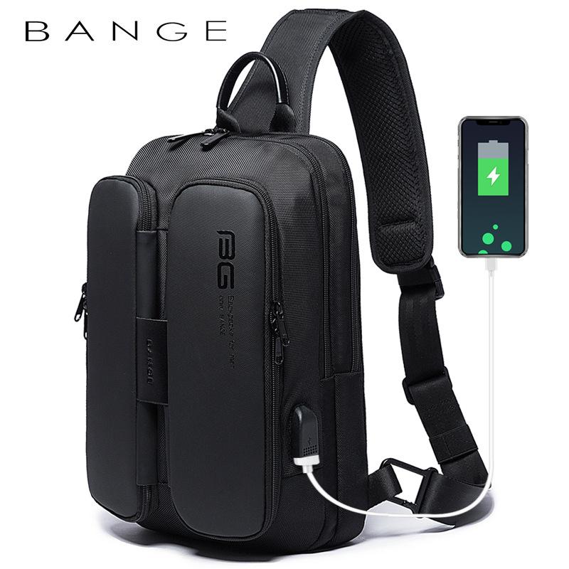 Túi đeo chéo chính hãng BANGE BG-7079 (Đen)