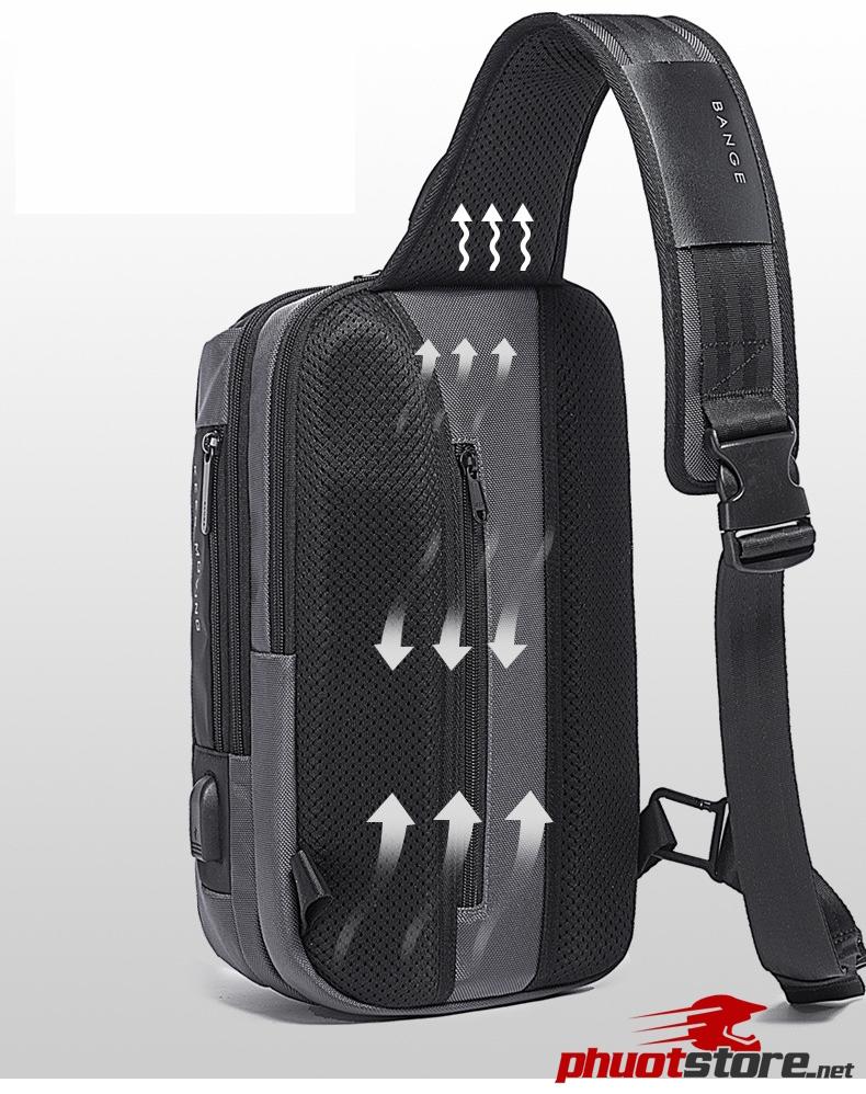 Túi đeo chéo chính hãng BANGE BG-7082
