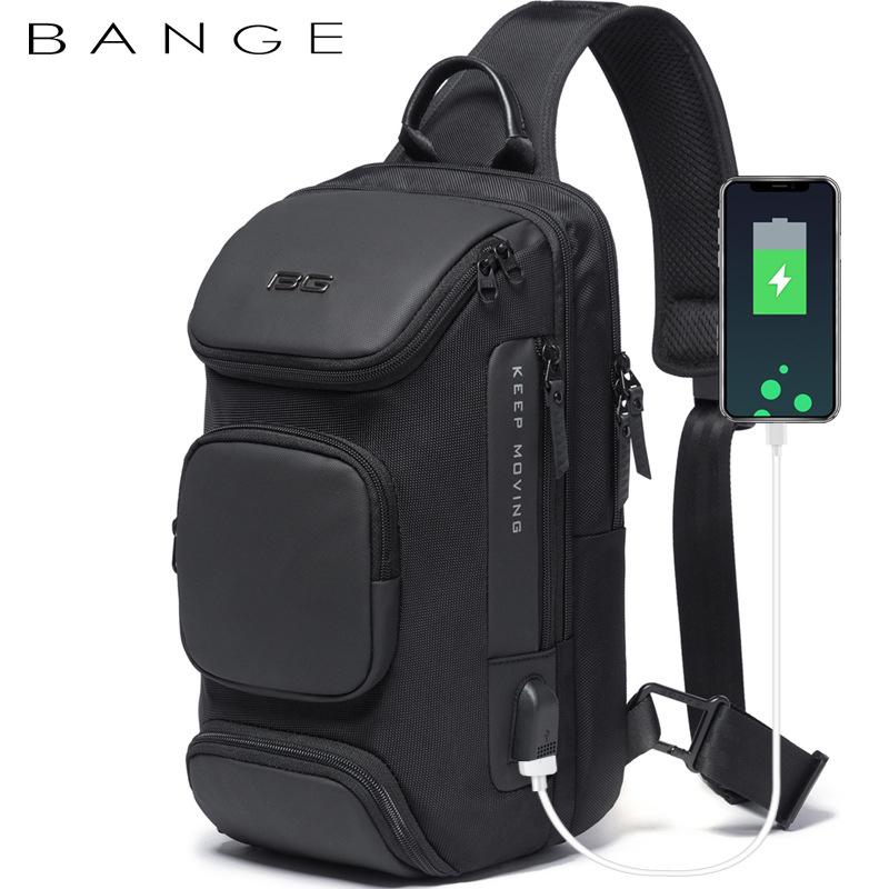 Túi đeo chéo chính hãng BANGE BG-7086 (Đen)